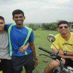 Captain Tushar Mahajan with his friends