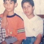 Captain Mahajan with his childhood friend