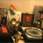 Colonel Vasanth Venugopal's memorabilia