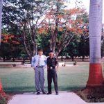 Capt Atul Sharma with his friend