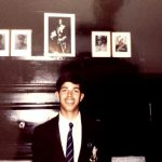 Major Dhruv Yadav in his younger days