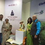 Family Members with Lt. Amit Singhs statue