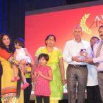 Flight lt Akash yadav's family