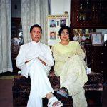 Captain Vikram Batra's parents G L Batra and Kamal Batra
