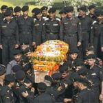 The last journey of Hav Gajendra singh