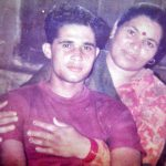 Gre Uday man singh with his mother