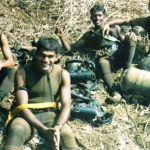 Capt Harshan during his training days