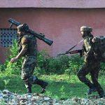 Hav Bahadur Singh Bohra in action against the terrorists