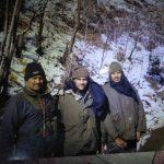 Hav Rambaboo Singh Chaudhary with his comrades