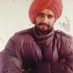 Maj Samir in a friend's attire at Siachen