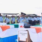 IAF's last salute to Wing Commander Vikas Upadhyay