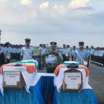 Indian Air force pays tributes to Wing Commander Vikas Upadhyay