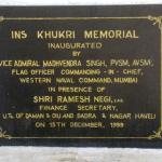 INS Khukhri memorial