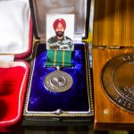 Medals received by Captain Devinder Singh Jass