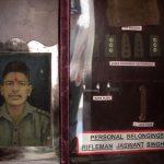 Jaswant's room at Jaswant Garh War Memorial, Jaswantgarh, Arunachal Pradesh
