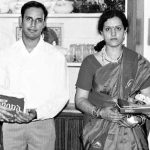 K.R. Murthy and his wife Mamata
