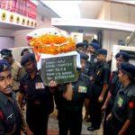 Final Honours to Major Kumandur Prabhakar Vinay