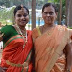 Lance Havaldar Shankarappa's wife Uma koti and daughter Trupti koti