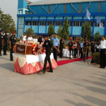 The last journey of Lance Naik Gopal Singh Bhadoriya VSM
