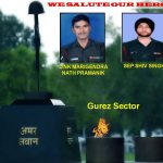 A tribute to Lance Naik Marigendra Nath Pramanik and Sepoy Shiv Singh