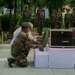 People pay their last respects to Lance Naik Mohammed Naseer