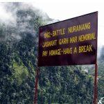Sign Board at Rifleman Jaswant Singh Rawat Memorial