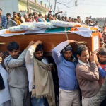 Last journey of Sepoy Sachin sharma