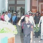 Last respects paid to Naik Ramana