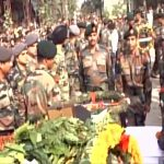 Army's last salute to Major Arvind Bazala
