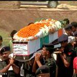 Last salute to Havaldar Jagveer Singh