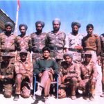 Captain Vinayak gore's with his comrades