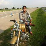 Flt Lt Pushpendra Badsara