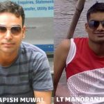 Lt Cdr Kapish Muwal & Lt Cdr Manoranjan Kumar, the 2 officers who died on board INS Sindhuratna