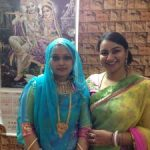 Lt Kiran Shekhawat with her sister-in-law