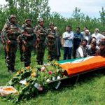 The Army pays last respects to Lt Ummer Fayaz