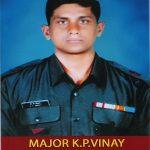 Major Kumandur Prabhakar Vinay KC