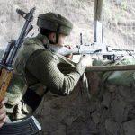 Maj. David Manlun in combat