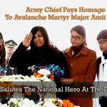 Major Amit Sagar's wife
