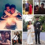 Major Dhruv Yadav during happy moments with his wife