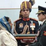 Major Mohit sharma's wife, receiving Ashoka chakra