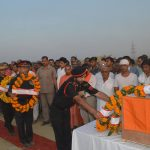 People pay their last respects to Major Neeraj Pandey
