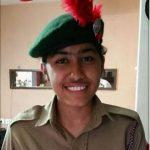 Major Padmapani Acharya's daughter Aparajita.