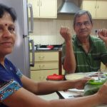 Major Sandeep Unnikrishnan's Parents