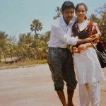 Major Sanjay with his wife Kamal