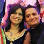 Major Sanjeev Lathar in happier times with his wife Shalini