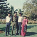 Major Shafeeq Mahmood Khan Ghori At his POP in OTA with his brothers and sister.