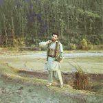 Major Sudhir Walia dressed as a local Kashmiri