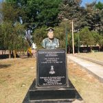 Major Sylvester Rajesh Ratnam's bust erected in his honour