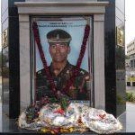Major M Saravanan's Memorial