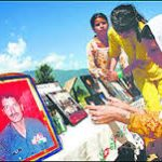 Family members remember the Martyr Nb Sub Chuni lal